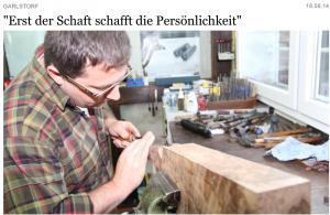 Ritter Büchsenmanufaktur im Hamburger Abendblatt