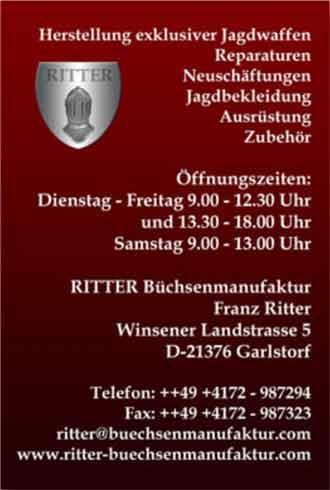 Ritter Büchsenmanufaktur