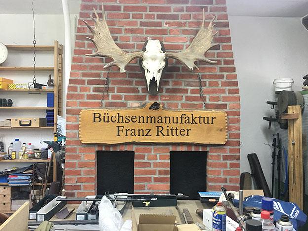 Original Ritter Buechsenmanufaktur Werkstatt Impressionen